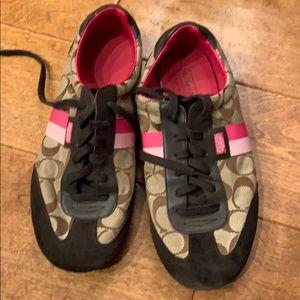 Used women's coach sneakers